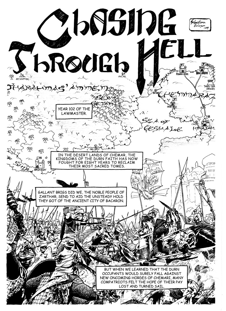 Chasing Through Hell, page 1