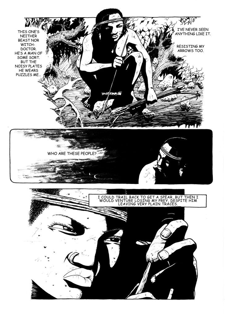 Chasing Through Hell, page 6