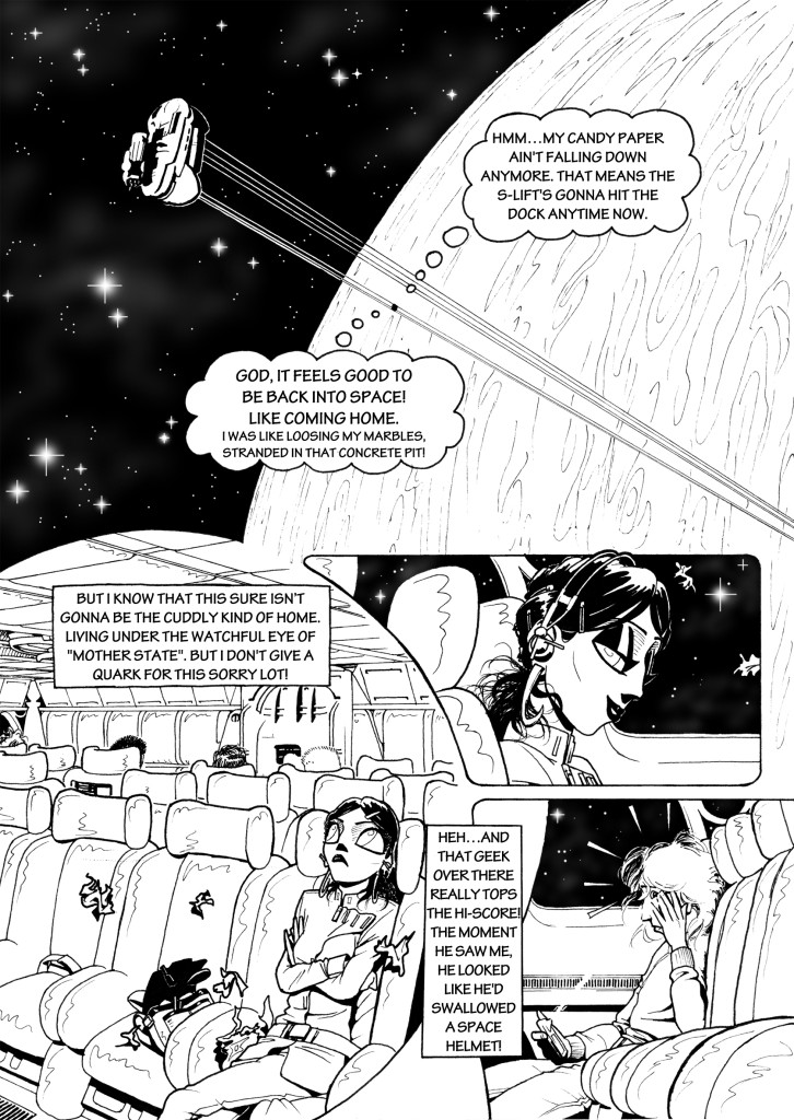 Gamma Chrome, chapter 2, page 5