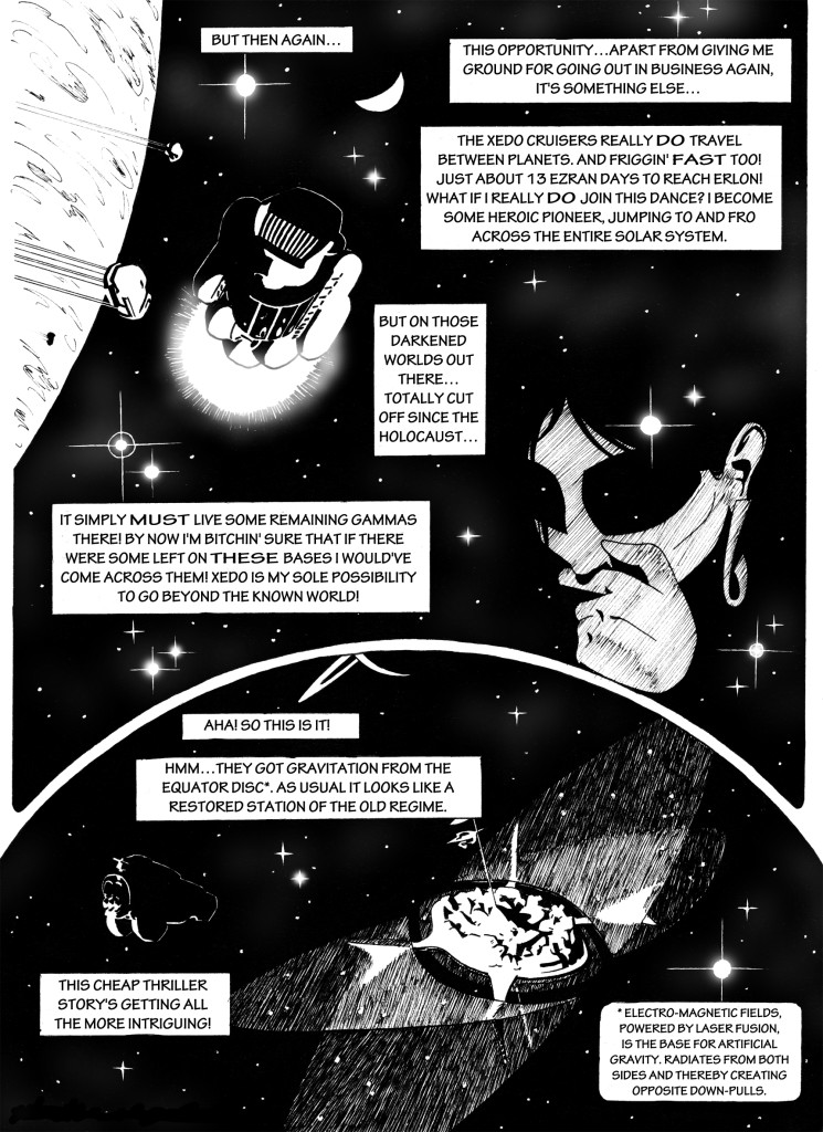 Gamma Chrome, chapter 2, page 6