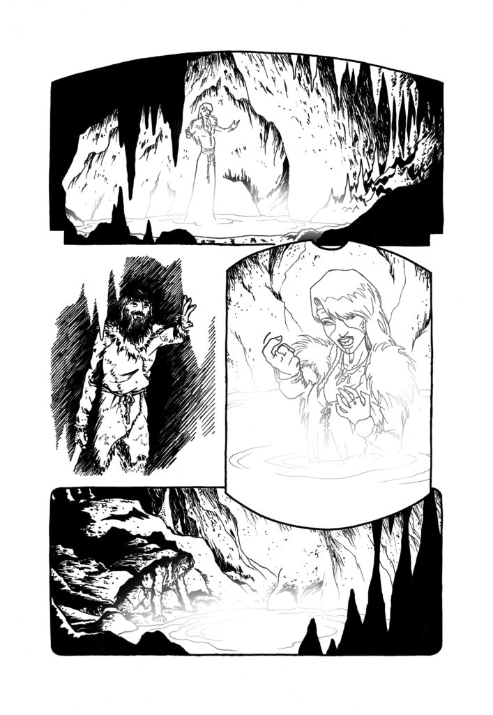 The well, page 8