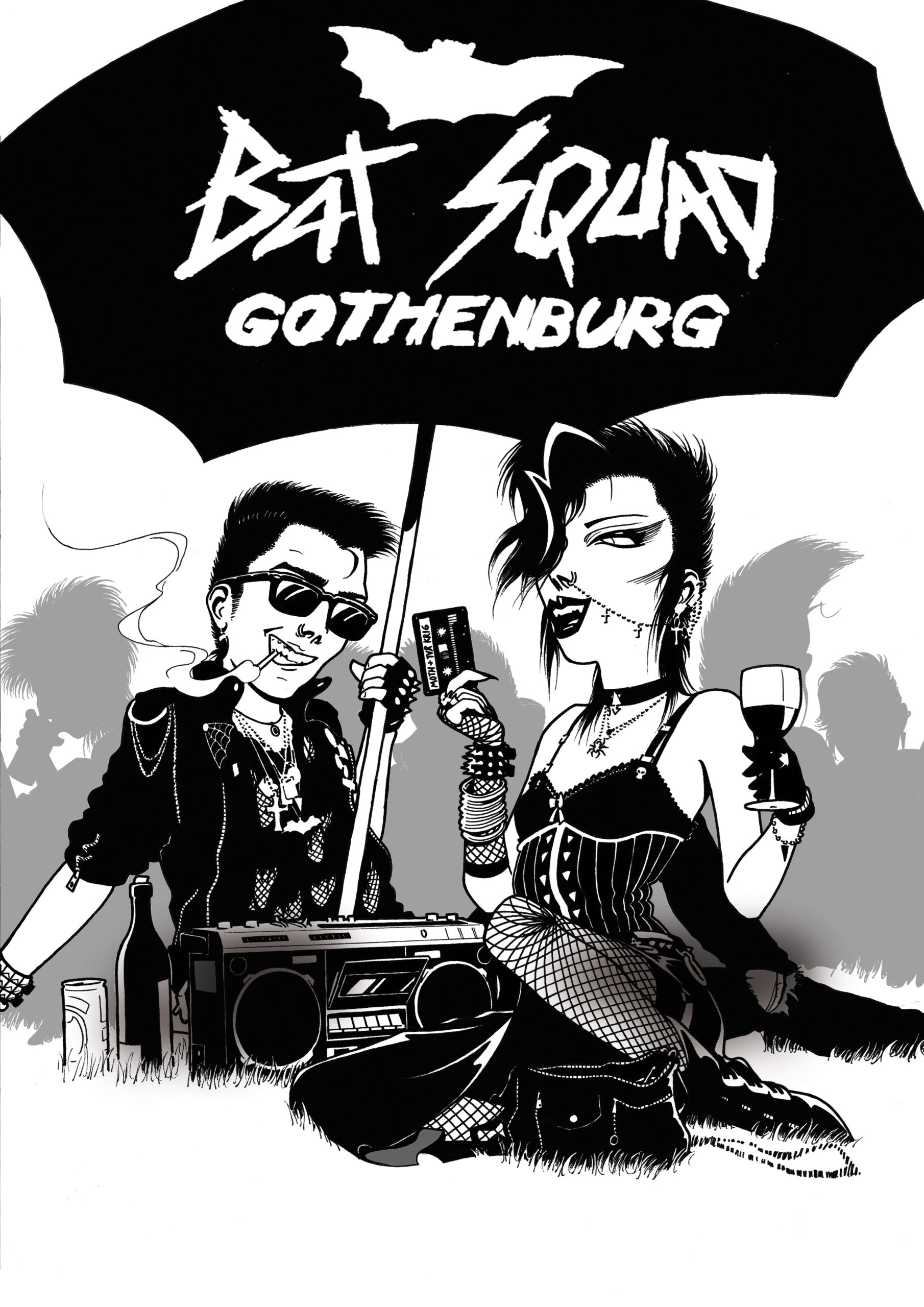 Bat Squad Gothenburg, poster 8.