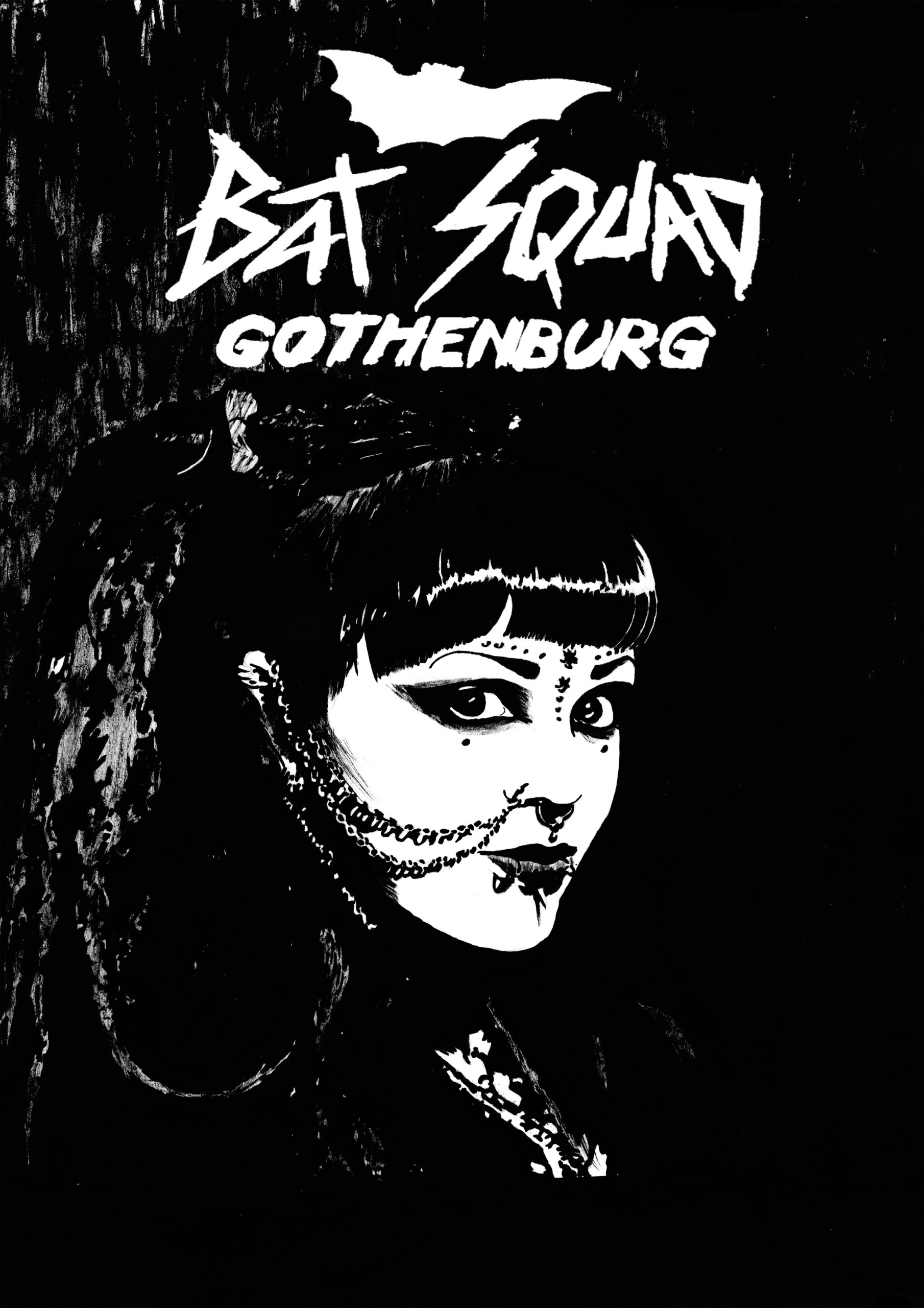 Bat Squad Gothenburg, poster 7.